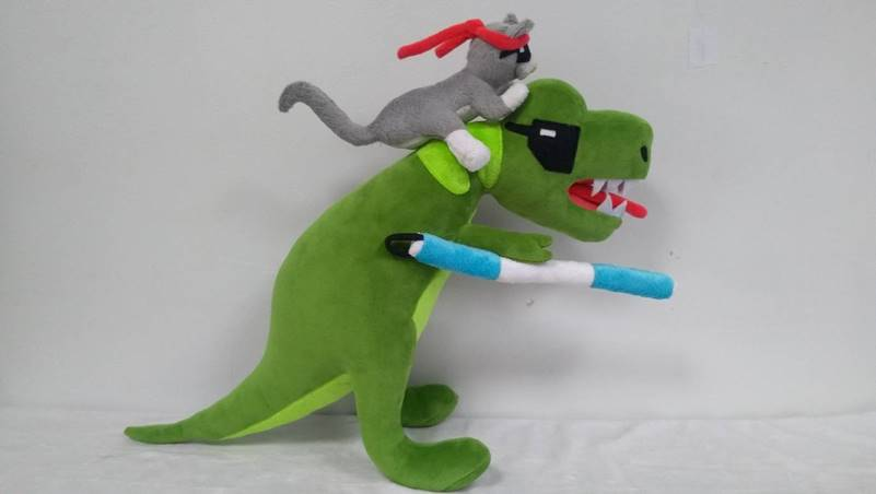 Ninja Cat Dinasour (United States)